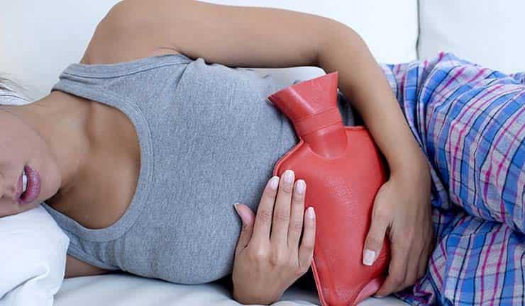 سایر اقدامات برای کاهش درد پریود