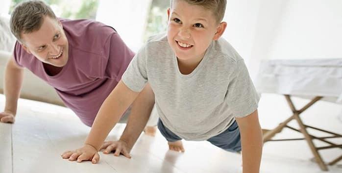 فعالیت جسمانی مناسب برای پیشگیری از بروز دیابت نوع دو در کودکان