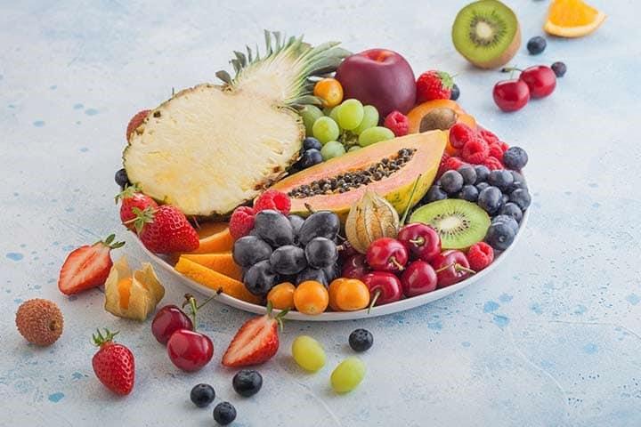 میوه های سرشار از مواد معدنی