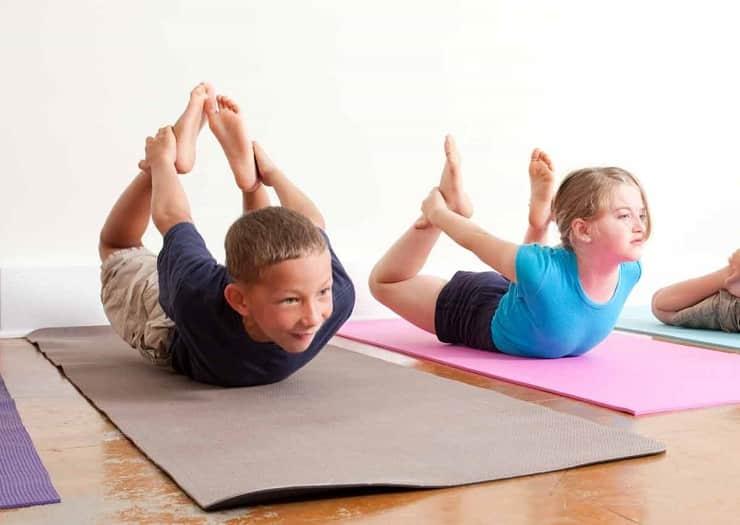 یوگا برای افزایش قد کودکان
